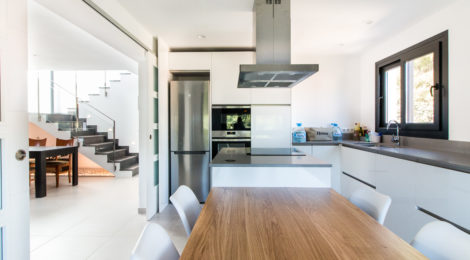 Renovation and expansion of a family house in Sant Daniel